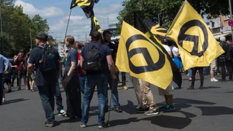 Der Verfassungsschutz hat die Identitäre Bewegung als rechtsextremistisch eingestuft.