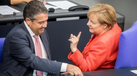 Vor vier Jahren war Sigmar Gabriel Angela Merkels Vizekanzler.