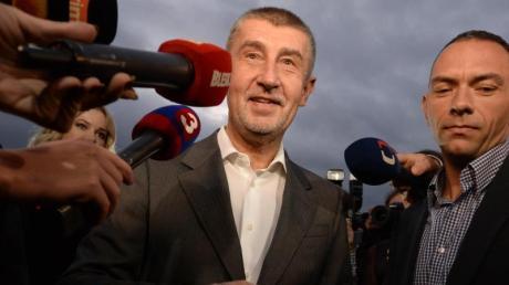 Der Vorsitzende der tschechischen Protestbewegung ANO, Andrej Babis, hat die Parlamentswahl in Tschechien gewonnen.