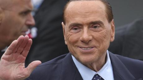 Italiens Ex-Ministerpräsident Silvio Berlusconi inBrüssel.
