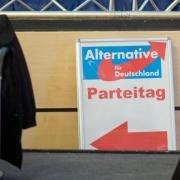 Die AfD trifft sich in Hannover zu ihremBundesparteitag. Foto: Julian Stratenschulte / Archiv