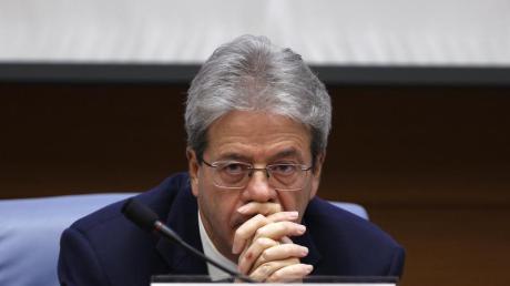 Der italienische Ministerpräsident Paolo Gentiloni wird bis zu den Neuwahlen die Amtsgeschäfte weiterführen.