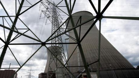 Das Atomkraftwerk Gundremmingen bei Günzburg in Bayern. Foto: Sven Hoppe