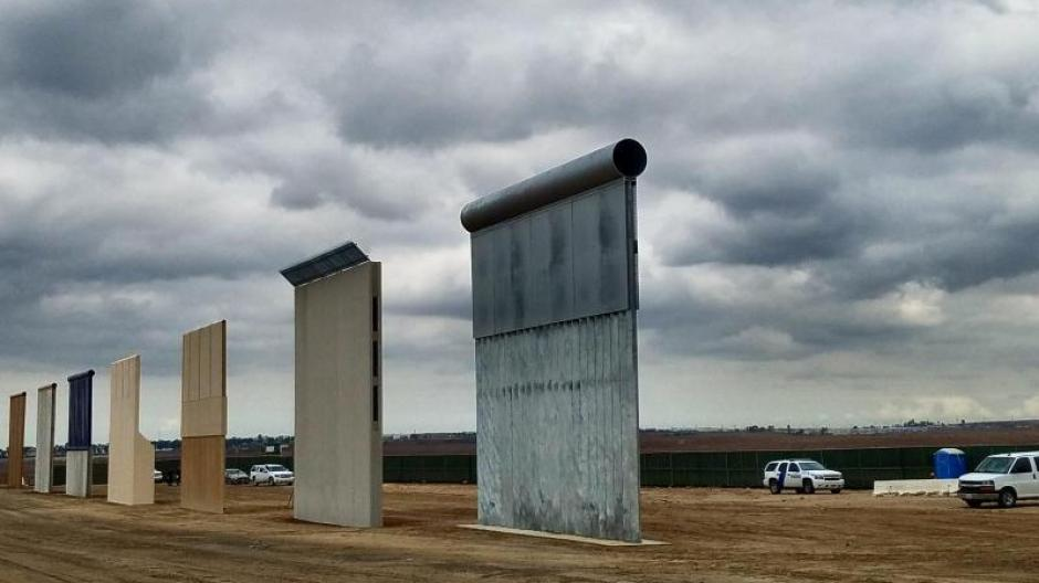 Usa Trumps Mauer Von Otay Mesa Wird Es Sie Jemals Geben Politik