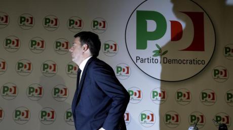 Nach der historischen Schlappe der Sozialdemokraten bei der Parlamentswahl in Italien hat Renzi seinen Rücktritt angekündigt - wenn eine neue Regierung gefunden ist.
