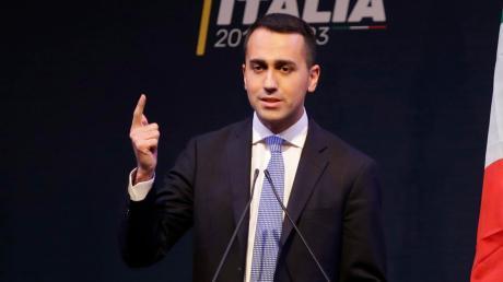 Der Spitzenkandidat der Fünf-Sterne-Bewegung: Luigi Di Maio.