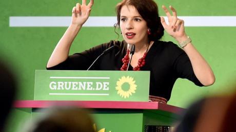 Marina Weisband beim Länderrat von Bündnis 90/Die Grünen.