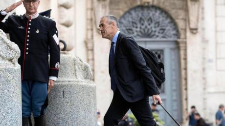 Carlo Cottarelli auf dem Weg zum Staatspräsidenten: Er soll Italien bis zu den Neuwahlen regieren. Wie viel Zeit ihm dafür bleibt, ist offen.