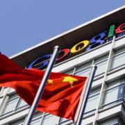 Das Google-Büro in Peking Anfang 2010: Der Internet-Gigant will auf dem chinesischen Markt wieder Fuß fassen. Foto: Diego Azubel