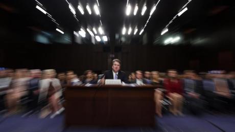 Die Vorwürfe gegen Kavanaugh sind inzwischen Gegenstand einer parteipolitischen Schlammschlacht in Washington geworden. Foto: Alex Brandon/AP