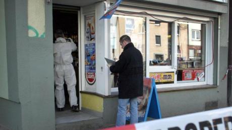 2006 wurde Mehmet Kubaşik in seinem Dortmunder Kiosk getötet. Er war das achte von zehn mutmaßlichen NSU-Todesopfern. Foto: Nils Foltynowicz