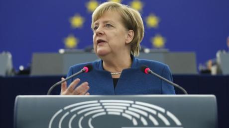 Bundeskanzlerin Angela Merkel muss Europas Staatschefs einen.