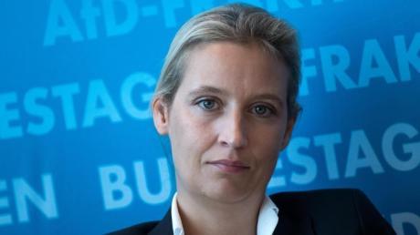 Alice Weidel, Fraktionschefin der AfD, steht wegen Spenden aus demAusland unter Druck.