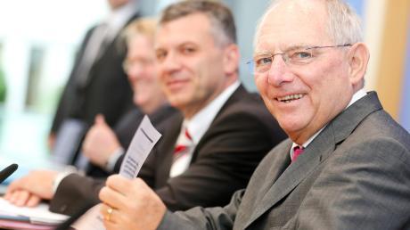 In der zweiten Reihe: Der Sozialdemokrat Werner Gatzer diente unter auch CDU-Finanzminister Wolfgang Schäuble als Haushaltsarchitekt.