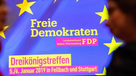 Die FDP läutet das politische Jahr mit ihrem Dreikönigstreffen ein. Foto: Sebastian Gollnow