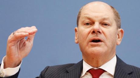 Bundesfinanzminister Olaf Scholz erklärt im Interview seine Pläne.