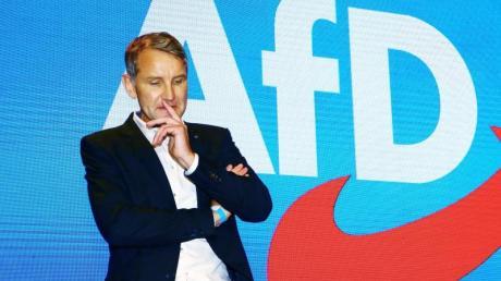 Björn Höcke, AfD-Fraktionsvorsitzender im Thüringer Landtag, zählt zum äußersten rechten Flügel der Partei.
