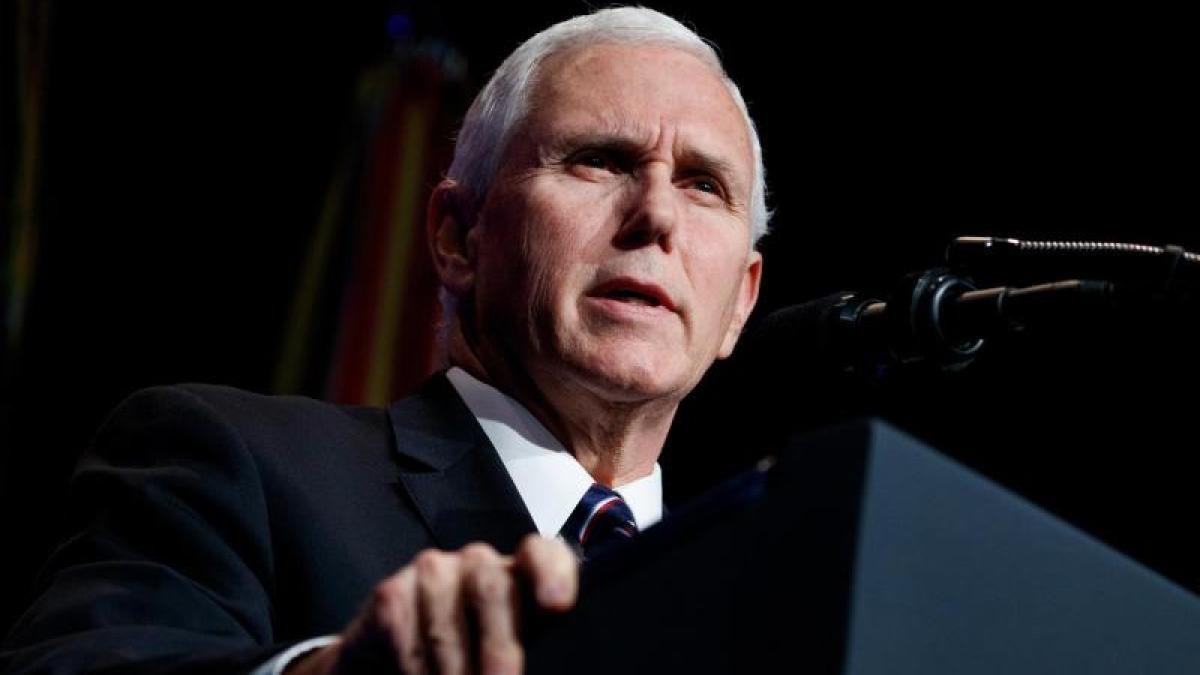 "US-Vizepräsident Pence: Venezuelas Maduro ""muss weg"""