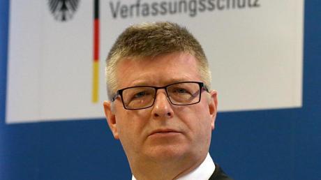 Verfassungsschutz-Präsident Thomas Haldenwang.