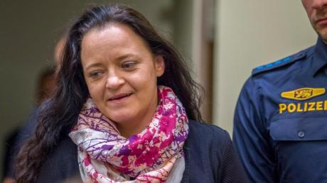 Die verurteilte Rechtsterroristin Beate Zschäpe. Foto: Peter Kneffel