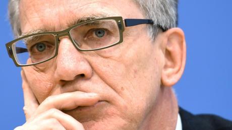 Innenminister bis 2018: Thomas de Maizière (CDU).