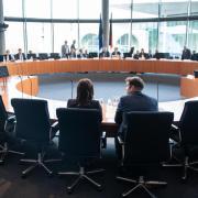 Im Untersuchungsausschuss war auch über Aufnahmen vom Tatort an der Gedächtniskirche gesprochen worden, auf denen angeblich Bilal B.A. zu sehen sein soll. Foto: Bernd von Jutrczenka