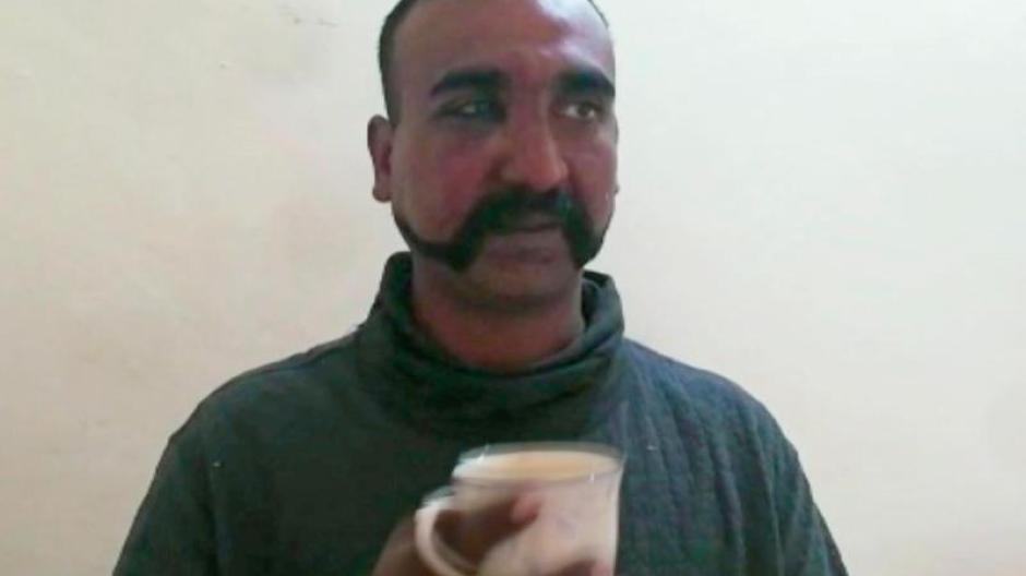 Ein indischer Armeeoffizier