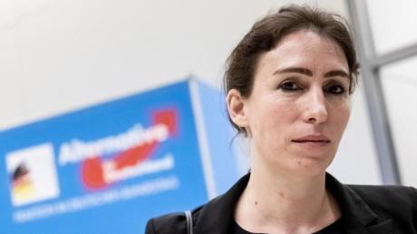 Soll nach Willen der AfD Vizepräsidentin des Bundestags werden: Mariana Harder-Kühnel. Foto: Christoph Soeder