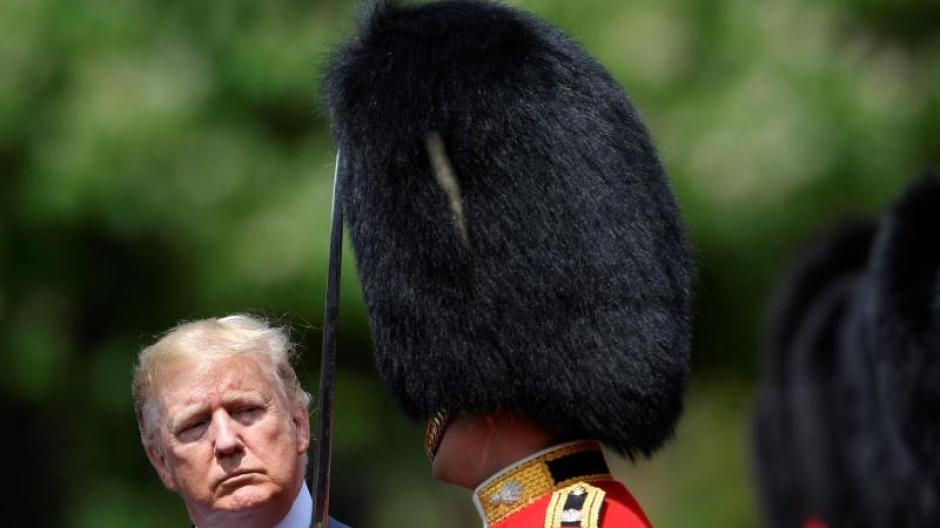Umstrittener Staatsbesuch Erster Eklat Schon Vor Trumps Ankunft In