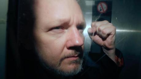 Julian Assange, Mitbegründer der Enthüllungsplattform WikiLeaks, sitzt derzeit eine Gefängnisstrafe in Großbritannien ab.