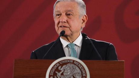 Mexikos Präsident Andrés Manuel López Obrador: «Wir werden weiter diese Politik der Nicht-Konfrontation verfolgen.»