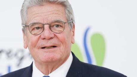 Ex-Bundespräsident Joachim Gauck wirbt für mehr «Toleranz in Richtung rechts».