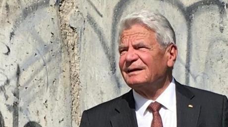 Joachim Gauck war von 2012 bis 2017 Bundespräsident.
