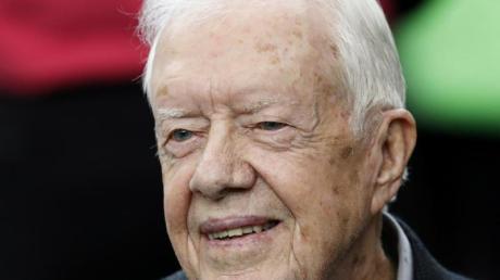 Der ehemalige US-Präsident Jimmy Carter imHerbst 2016. Am 1. Oktober 2019 feiert er seinen 95. Geburtstag.