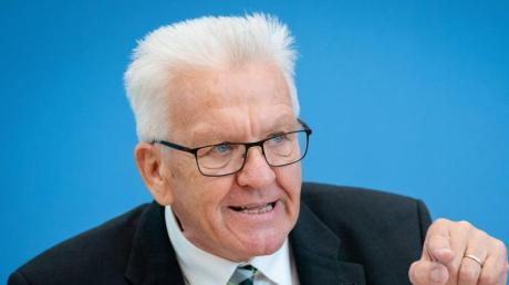 Baden-Württembergs Ministerpräsident Winfried Kretschmann. Foto: Kay Nietfeld
