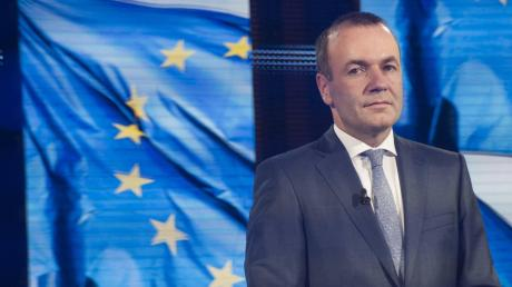 CSU-Europapolitiker Manfred Weber steht im Zentrum des Personalpokers.