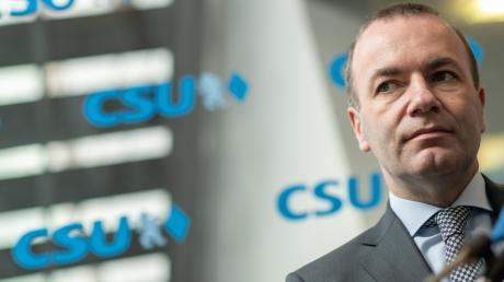 Der CSU-Politiker Manfred Weber wollte an die Spitze der EU-Kommission. Doch sein Traum ist geplatzt.