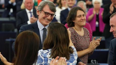 Diesen Posten wollten sich die  Europaparlamentarier nicht vorschreiben lassen. Mit großer Mehrheit wählten die Abgeordneten David-Maria Sassoli zum Präsidenten des Europaparlaments.