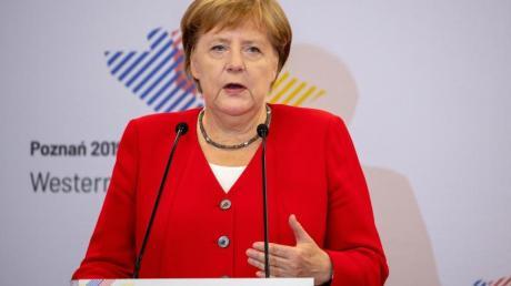 Bundeskanzlerin Angela Merkel (CDU) hat sich erneut für die Erweiterung der Europäischen Union ausgesprochen.