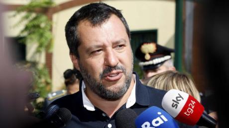 Italiens Innnenminister Matteo Salvini ist für seine rigorose Anti-Migrations-Politik bekannt. Foto: Mourad Balti Touati/LaPresse/&ZUMA Press