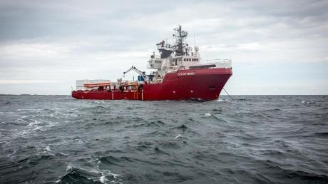 Die «Ocean Viking» soll im Auftrag der französischen Hilfsorganisation «SOS Mediterranee» Flüchtlinge vor der libyschen Küste suchen.