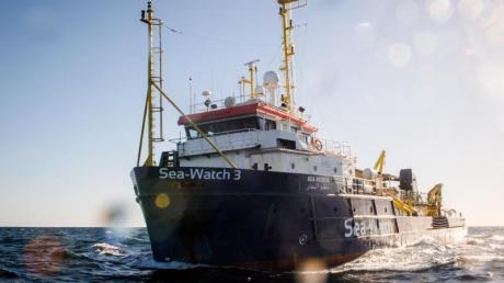Die «Sea-Watch 3» liegt derzeit in Sizilien an der Kette, nachdem Kapitänin Carola Rackete es unerlaubt nachItalien gesteuert hatte. Foto. Chris Grodotzki / Jib Collective/Sea-Watch.org Foto: Chris Grodotzki / Jib Collective