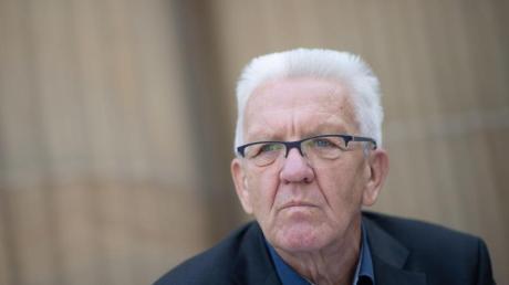 Baden-Württembergs Ministerpräsident Winfried Kretschmann (Bündnis 90/Die Grünen).