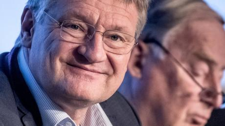 Ungleiches Duo: die beiden AfD-Vorsitzenden Jörg Meuthen und Alexander Gauland.