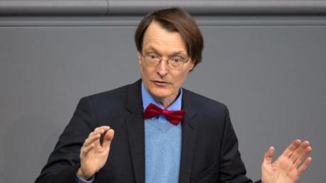 Karl Lauterbach will SPD-Vorsitzender werden. Foto: Ralf Hirschberger