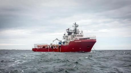 """Das norwegische Schiff """"Ocean Viking"""" soll im Auftrag der französischen Hilfsorganisation SOS Méditerranée Flüchtlinge vor der libyschen Küste suchen."""
