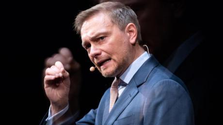 FDP-Chef Christian Lindner hält nichts von denSoli-Plänen der Bundesregierung.