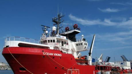 Das Rettungsschiff «Ocean Viking». Foto: Julia Naue