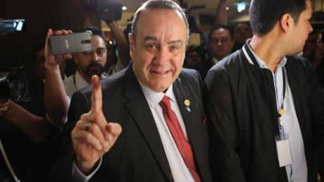 Guatemalas neuer Präsident Alejandro Giammatei: «Wir werden das Land wiederaufbauen.»