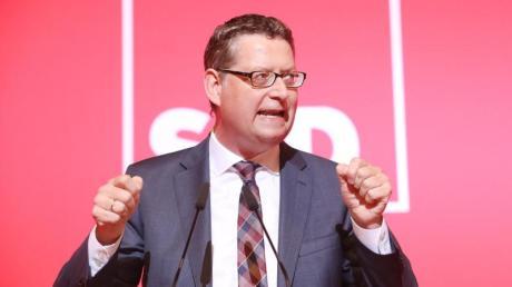 Thorsten Schäfer-Gümbel Mitte Juni bei einer SPD-Konferenz in Thüringen.